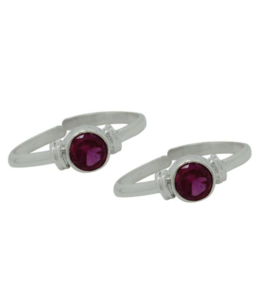 Frabjous Purple Toe Ring