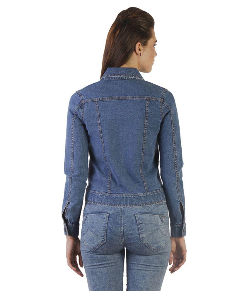 34ef2f243117 Buy Ladybug Blue Cotton Denim Jackets Online at Best Prices in India ...
