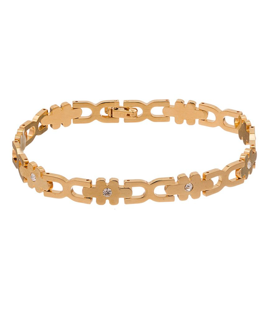 Voylla Gold Single Anklet