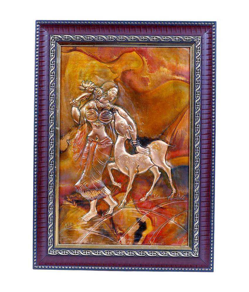 Manjusha Shakuntala in Fibre Frame