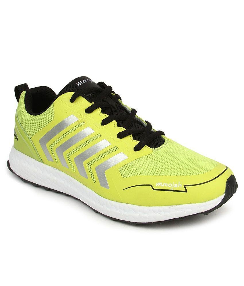 Mmojah Yellow Sport Shoes - Buy Mmojah