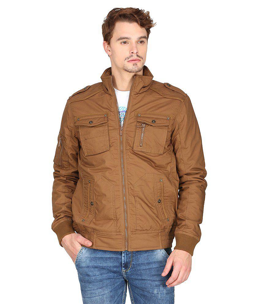 f36db21e3 Mufti Khaki Casual Jacket