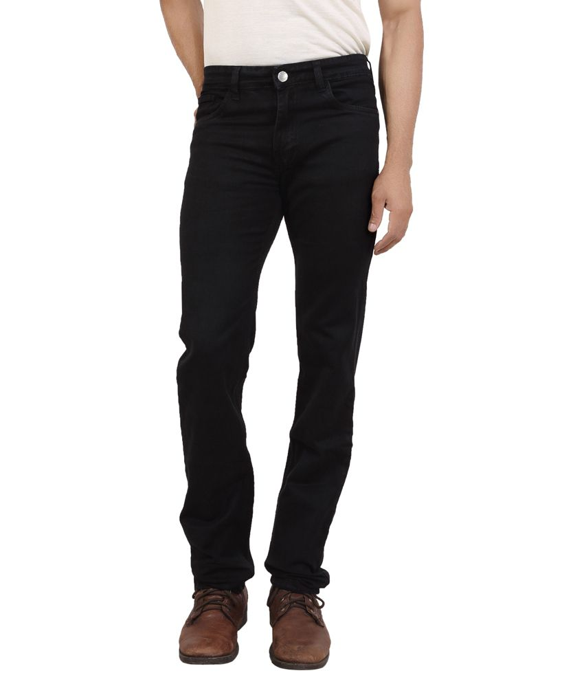 Bottoms Black Slim Fit Jeans