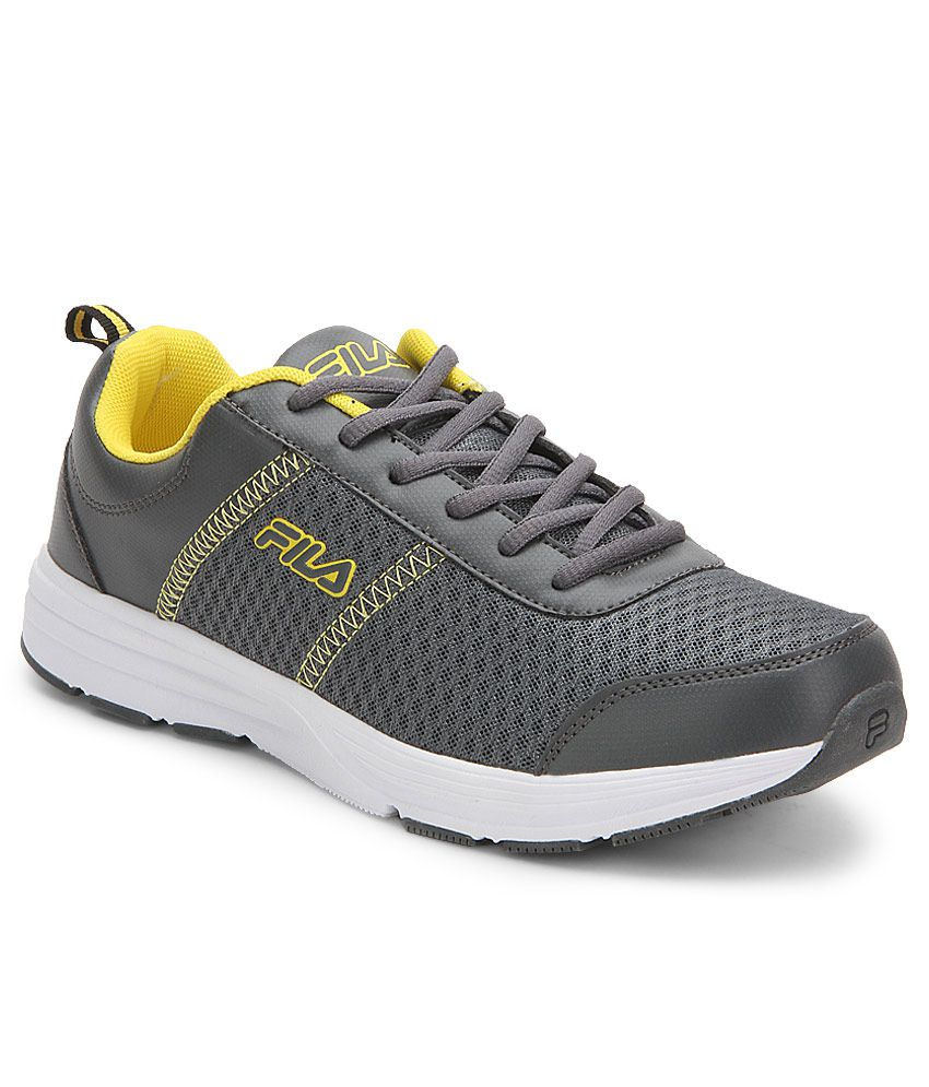 8ab33f408538 Fila Ormanno Gray Sports Shoes - Buy Fila Ormanno Gray Sports Shoes Online  at Best Prices in India on Snapdeal