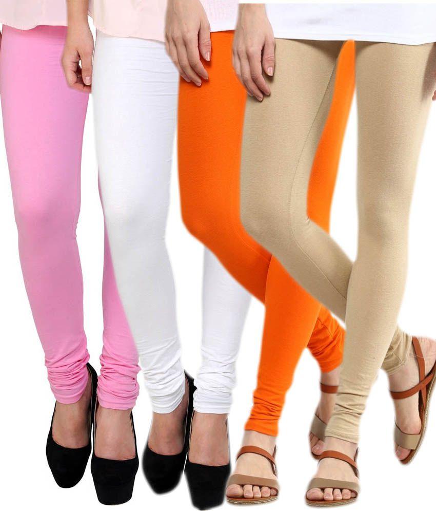 Stylobby Pack of 4 Viscose Leggings