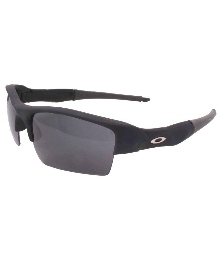 Sushito Black Frame Plastic Sunglasses