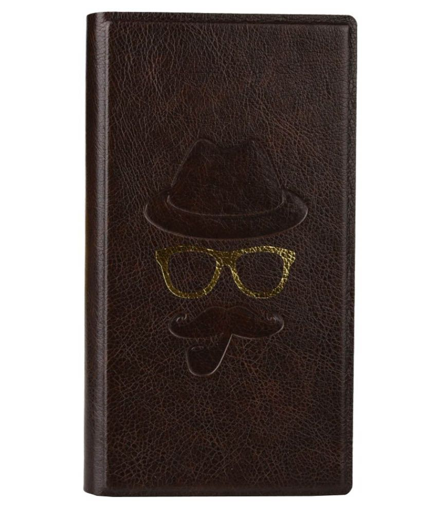 Jo Jo Flip Cover For Micromax Canvas Nitro 4g - Brown