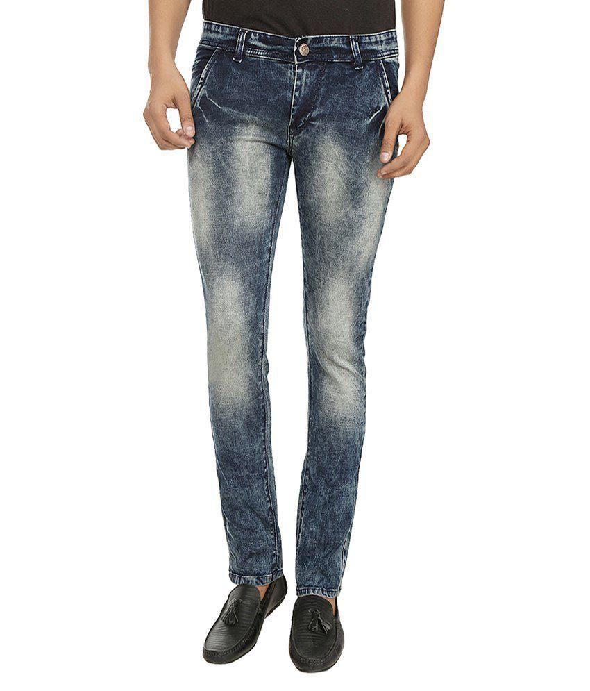 Rave By Fasnoya Blue Skinny Fit Jeans