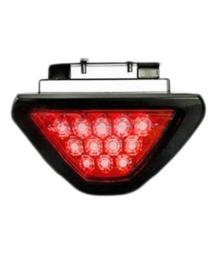 Takecare 12 Red LED Flashing 3rd Brake Lamp Light for Maruti Swift