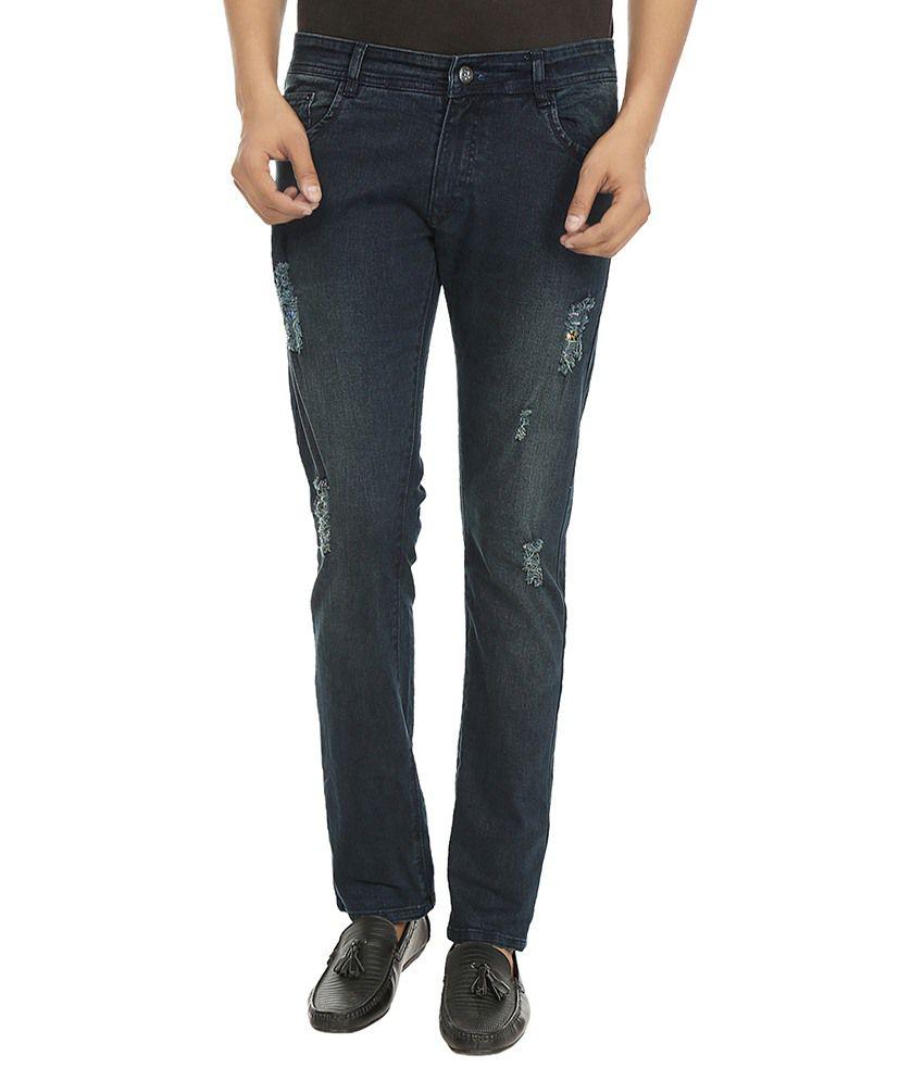 Vogel By Fasnoya Black Skinny Fit Jeans