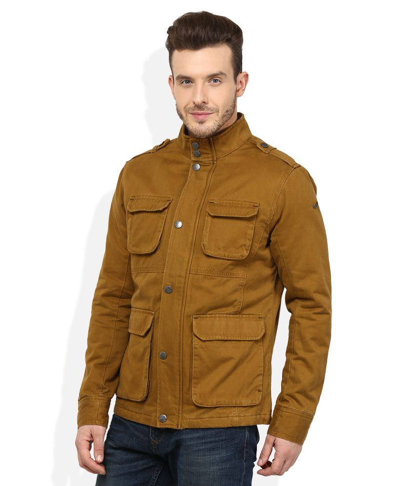 Woodland Brown Casual Jacket - Buy Woodland Brown Casual Jacket ...