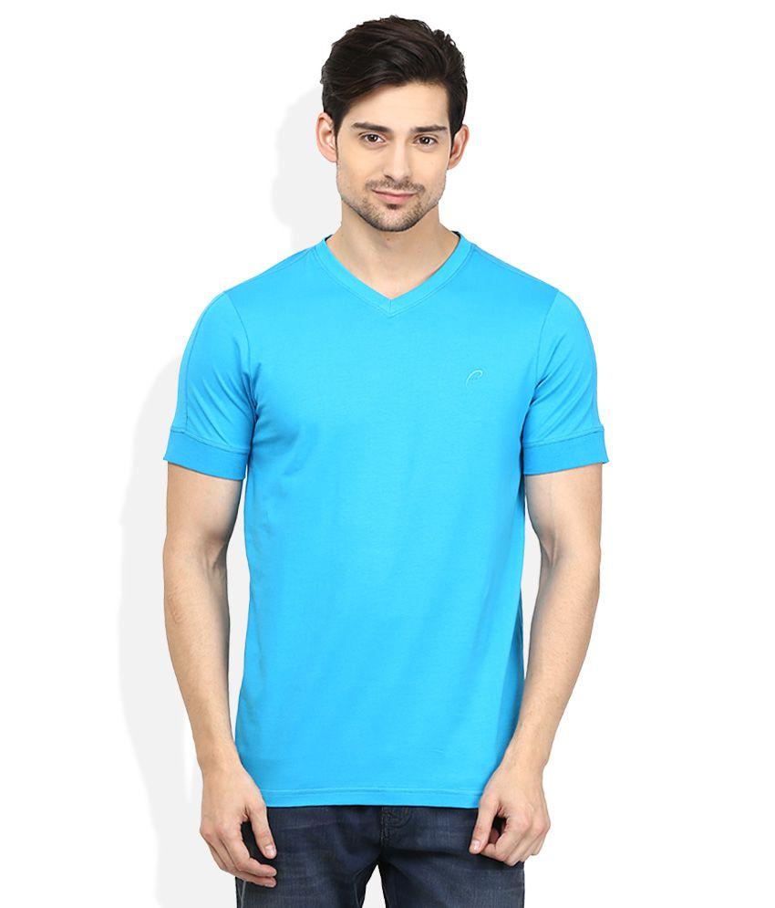 Proline Blue V-Neck T Shirt
