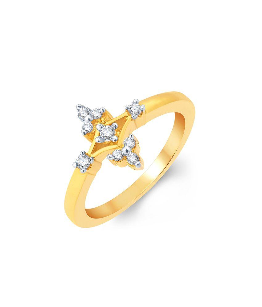 KaratCraft 18Kt Gold Ring