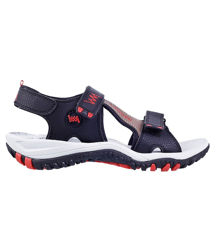4cf752d154de Lawman Pg3 Black Buckle Sandals - Buy Lawman Pg3 Black Buckle Sandals Online  at Best Prices in India on Snapdeal