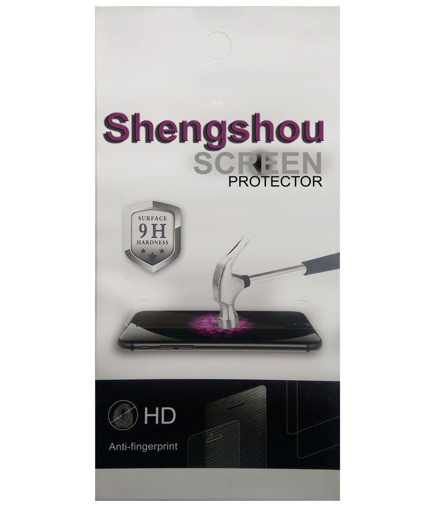 Shengshou Clear Screen Guard For Intex Cloud Y12