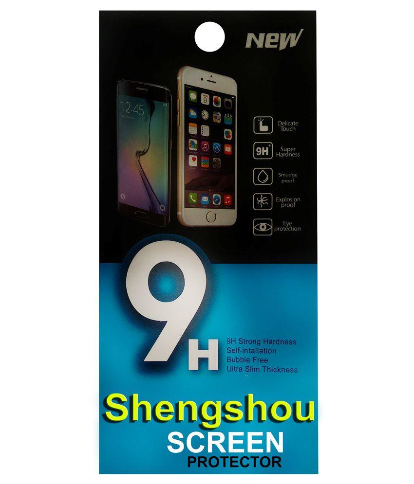 Shengshou Clear Screen Guard For Samsung Galaxy S4 Mini I9192