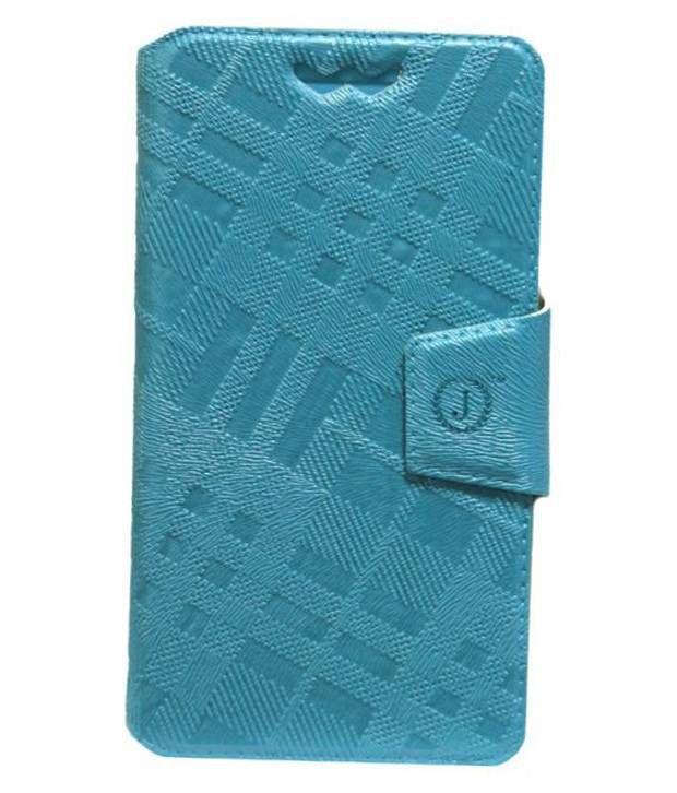 Jo Jo Flip Cover For HTC Windows Phone 8X - Blue