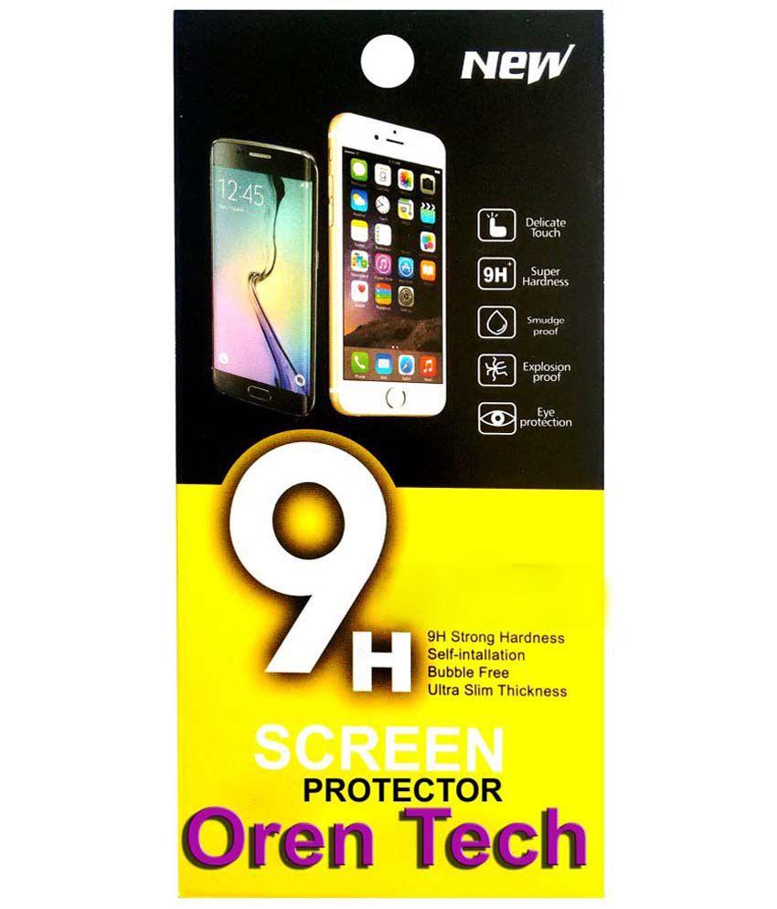 OrenTech WhiteLilly SG134 Screen Guard For LG G2