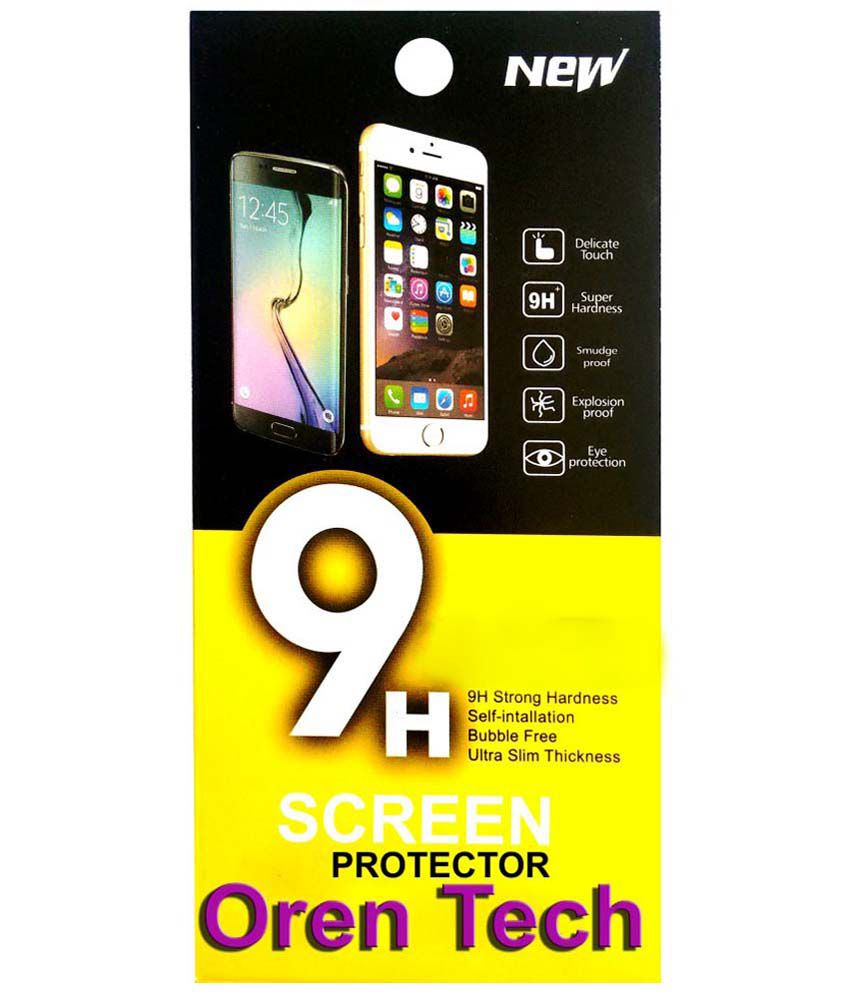 OrenTech WhiteLilly SG328 Screen Guard For Sony Xperia J