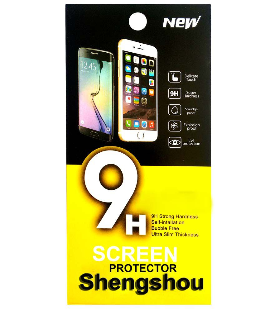 Shengshou Bluedimond SG178 Screen Guard For Micromax Canvas HD A116