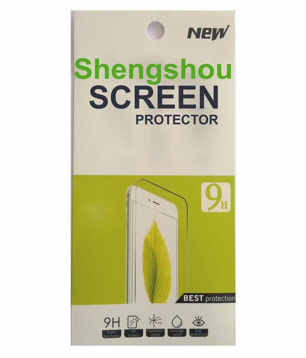 Shengshou Tempered Glass Screen Guard For Xiaomi Redmi Note