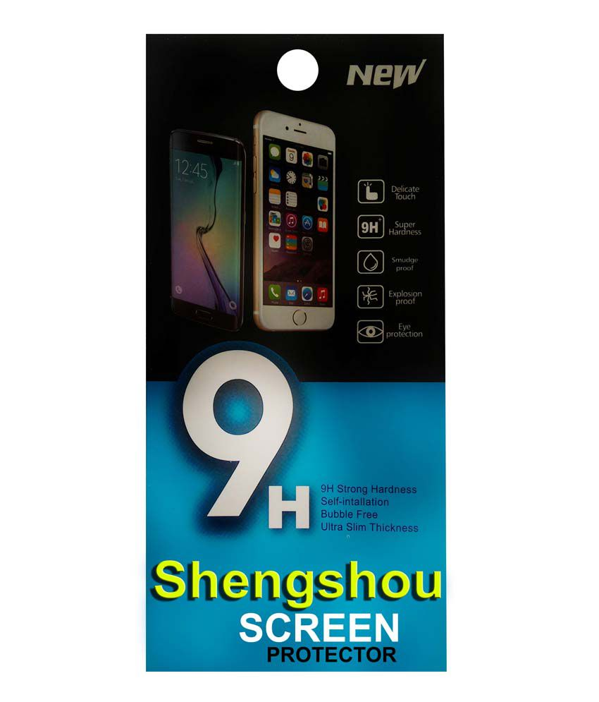 Shengshou Tempered Glass Screen Guard For Micromax Canvas Knight Cameo A290