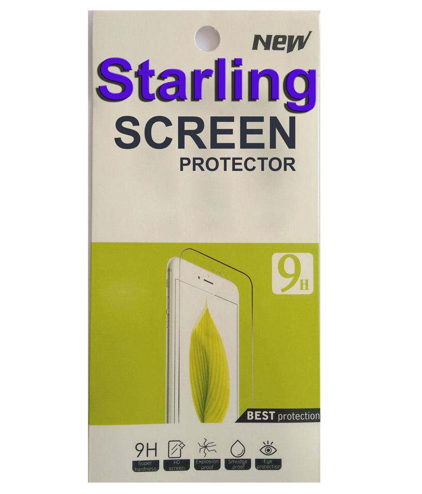 Starling Tempered Glass Screen Guard For Samsung Galaxy