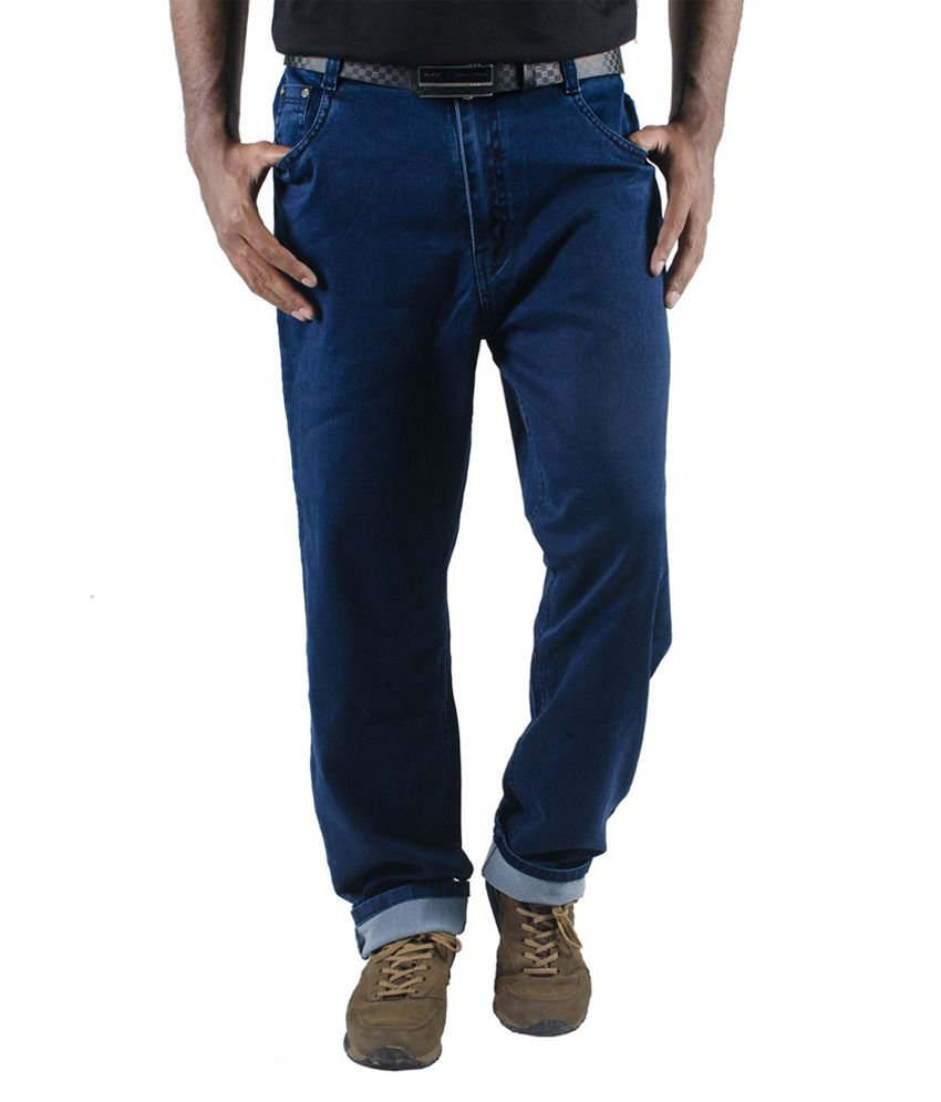 Golden Cloud Blue Regular Fit Jeans