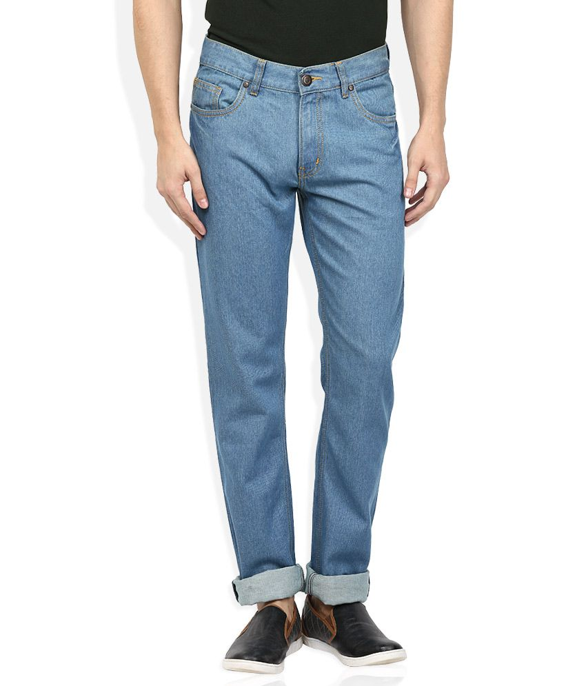 Newport Blue Raw Denim Regular Fit Jeans
