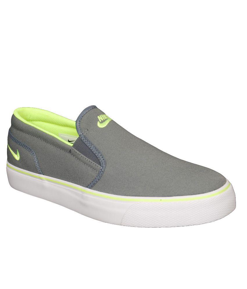 Nike Gray Lifestyle \u0026 Canvas Shoes Art