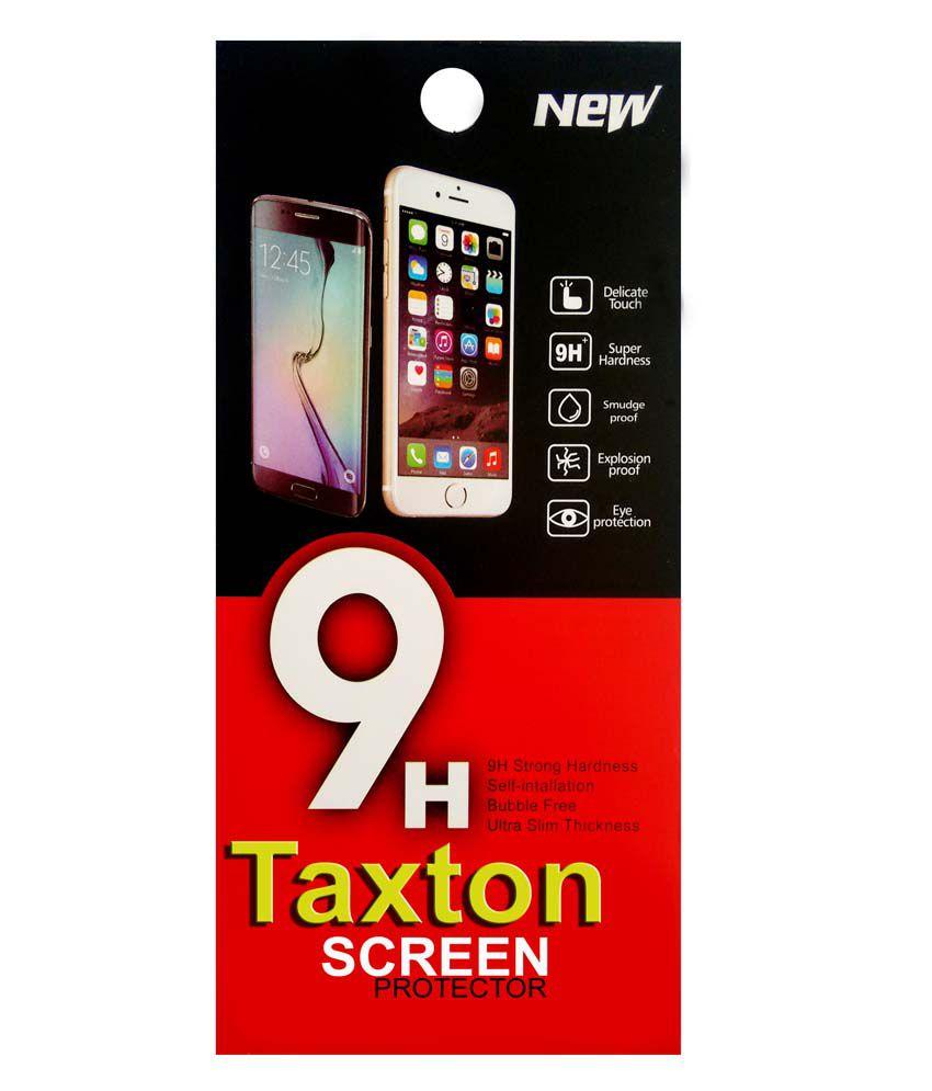 Taxton Clear Screen Guard For Intex Aqua Star 5.0