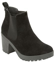 Truffle Collection Attractive Black Boots