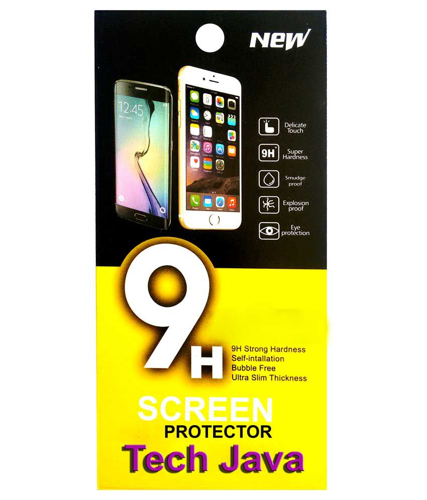 Techjava Tempered Glass Screen Guard for Samsung G820