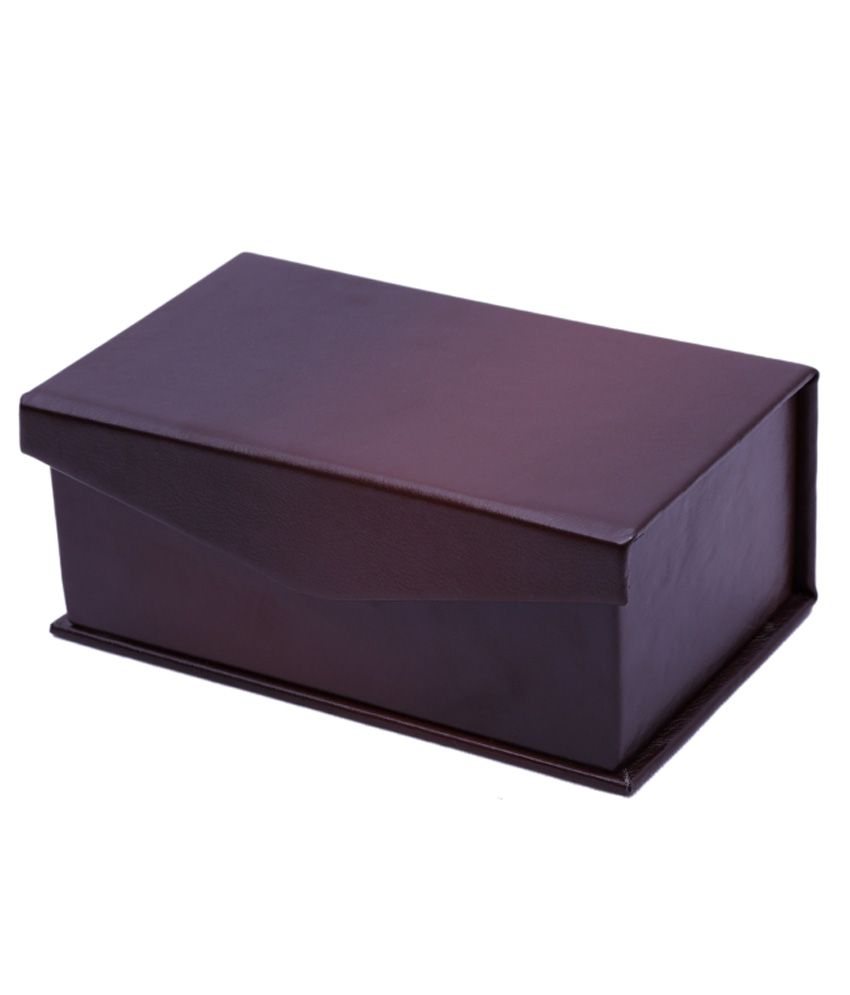 Cherrylite Brown Wooden Jewellery Box