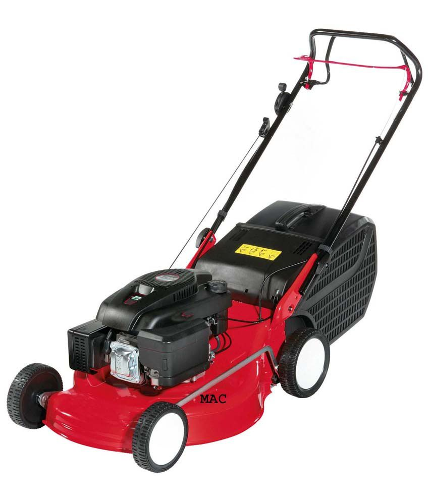 Self Propelled Cart >> Mac Briggs And Stratton Red Lawn Mowers: Buy Mac Briggs And Stratton Red Lawn Mowers Online at ...