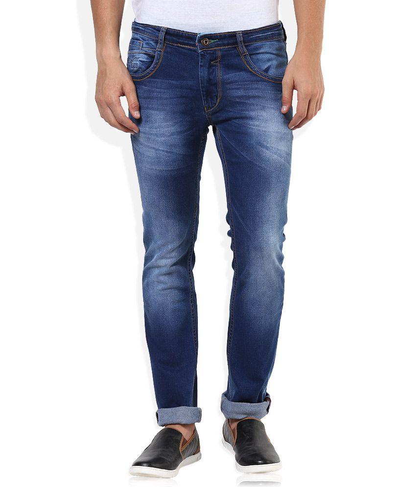 Sin Blue Regular Fit Jeans