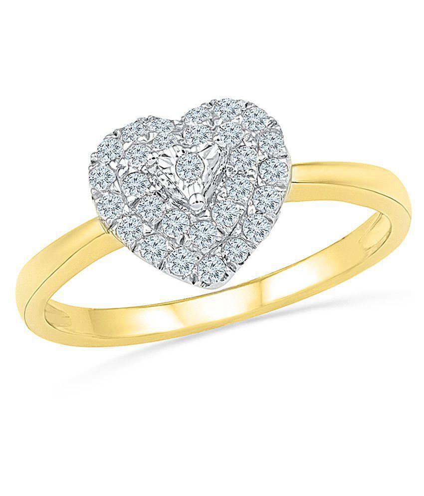 Radiant Bay 14Kt Gold Ring