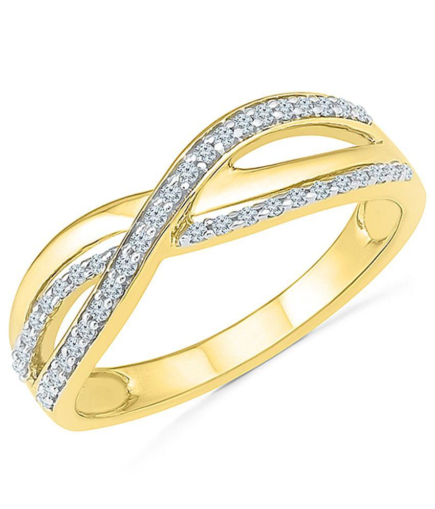 Radiant Bay 14kt Gold Diamond Ring