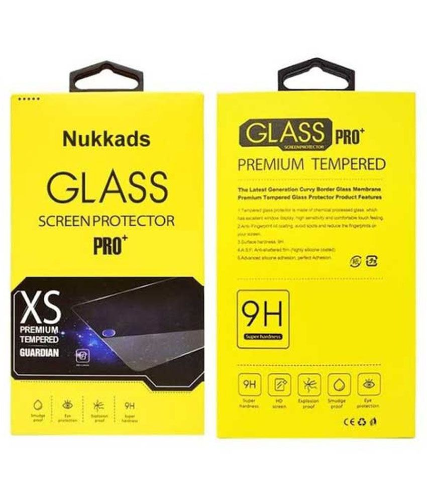 Micromax Canvas A1 Tempered Glass Screen Guard by Nukkads