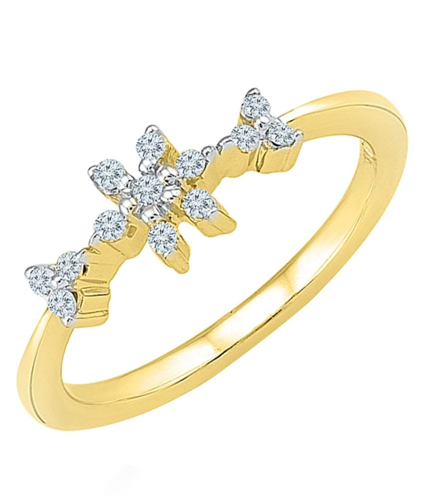 Radiant Bay 14Kt Yellow Gold Ring