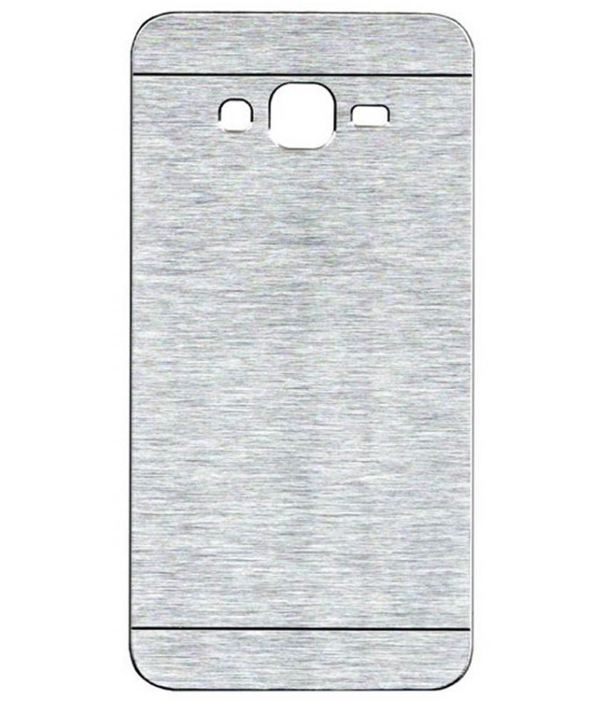 separation shoes e5665 25144 Case Design Back Cover Case For Samsung Galaxy Grand Prime 4G - Silver