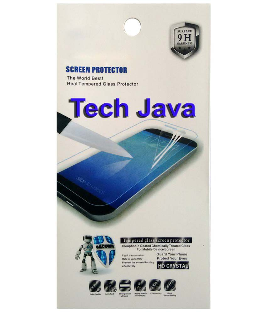 TechJava Clear Screen Guard For Sony Xperia J