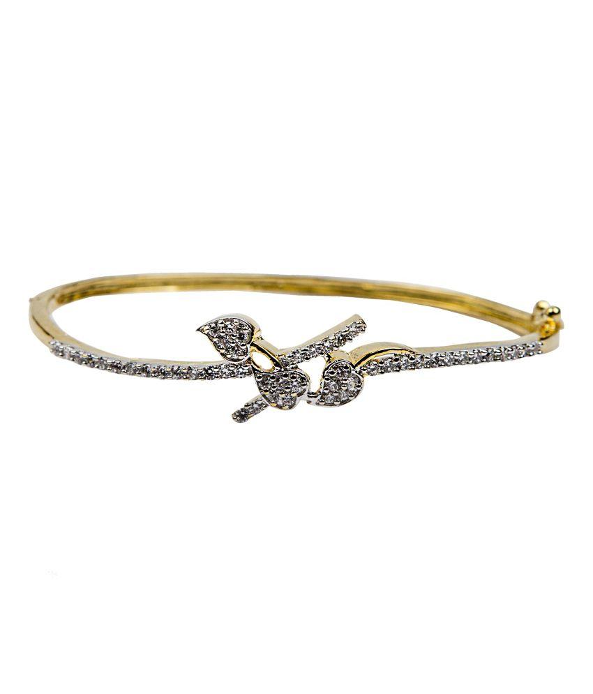 Bridesmaid Golden Brass Bracelet
