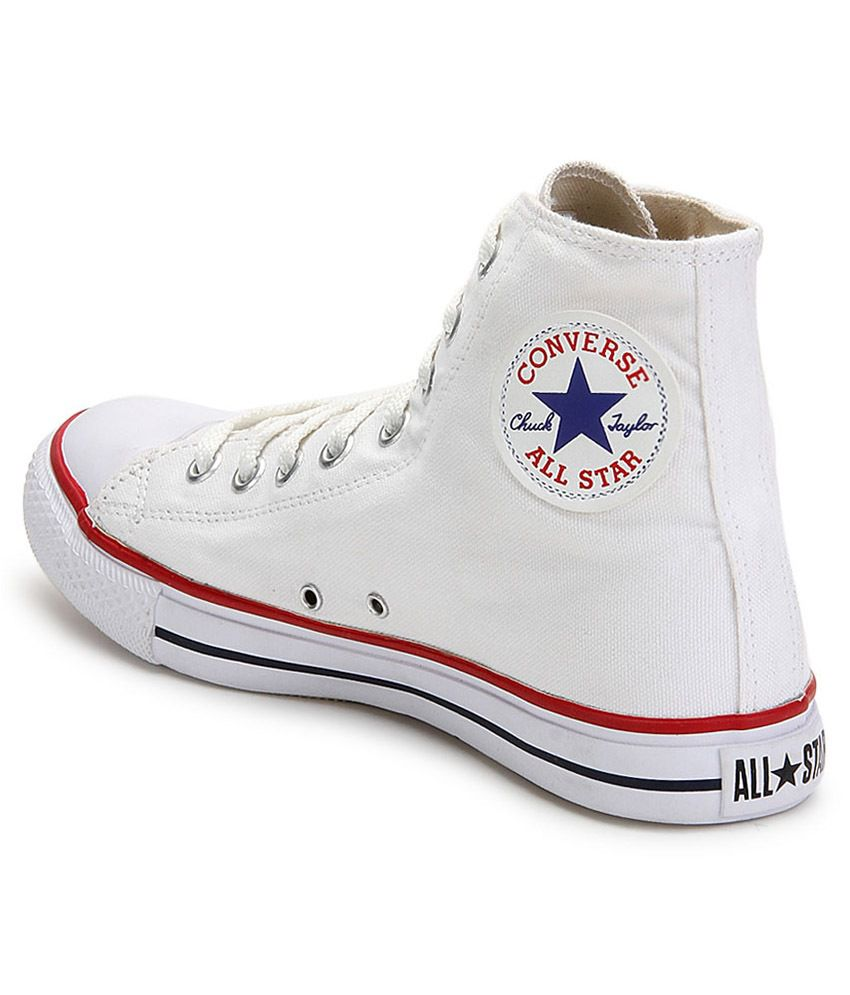 Converse White Canvas Shoes - Buy Converse White Canvas ...