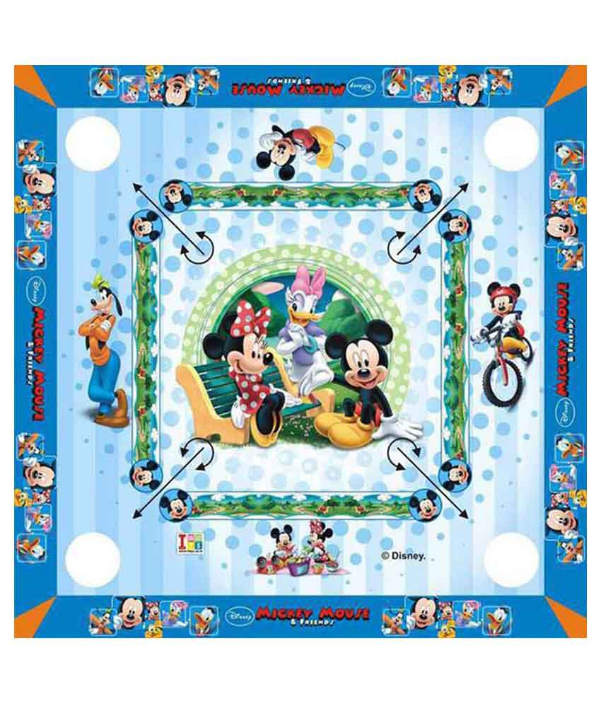 Disney Mickey Mouse & Friends Carom Board - Big Size