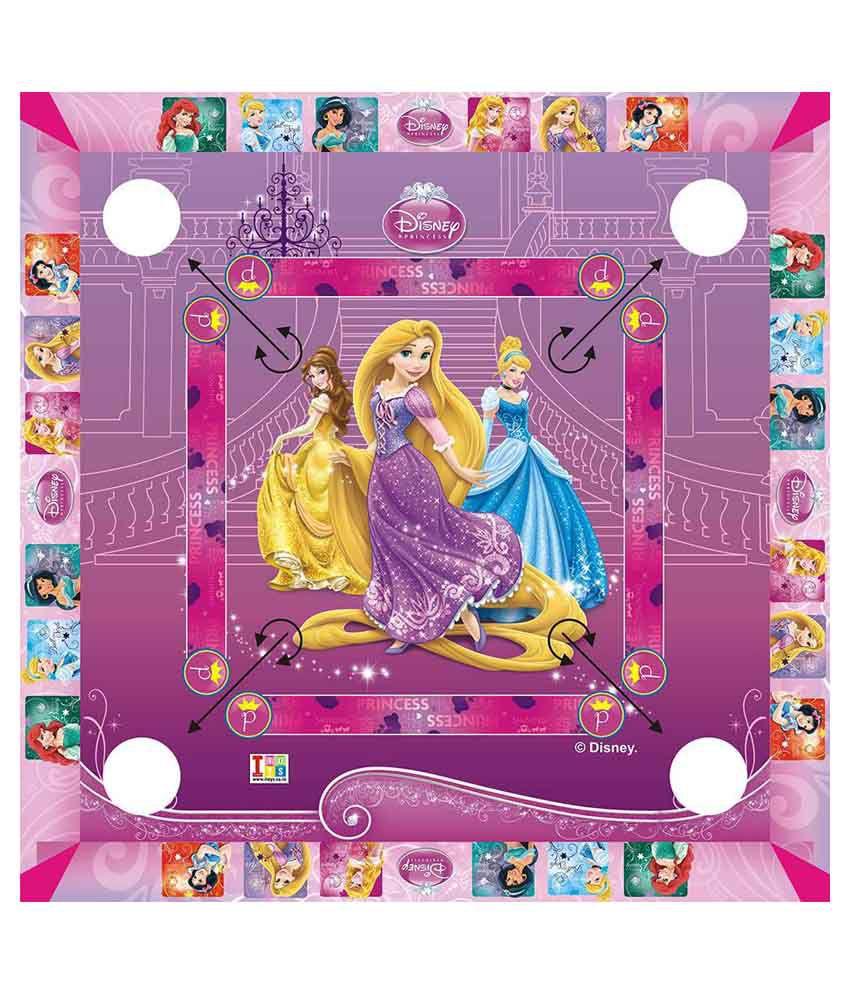 Disney Princess Carom Board - Big Size