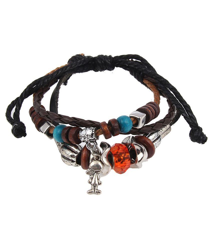 Jewelizer Multicolour Casual Hit Bracelet
