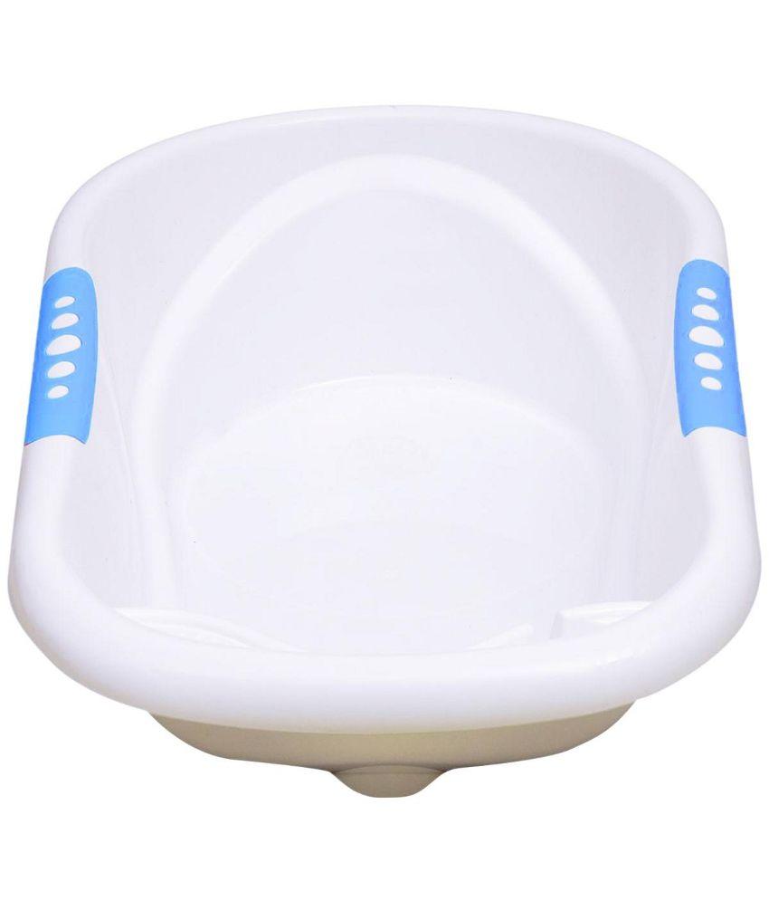 babyoye plastic baby bathtub blue buy babyoye plastic baby bathtub blue. Black Bedroom Furniture Sets. Home Design Ideas