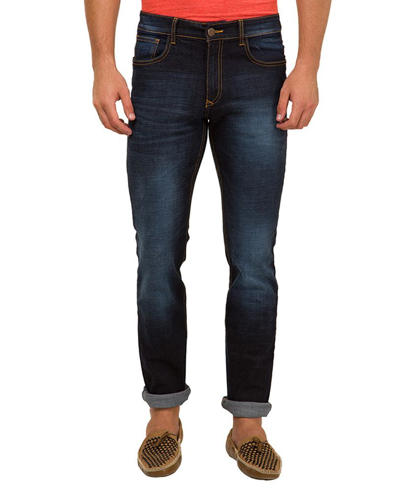 Locomotive Navy Skinny Fit Jeans