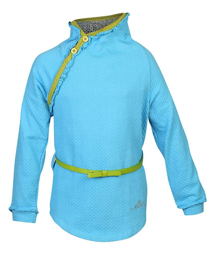 ELLO Turquoise Without Hood Sweatshirt